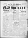 La Voz del Pueblo, 03-01-1919 by La Voz Del Pueblo Publishing Co.
