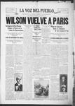 La Voz del Pueblo, 03-08-1919 by La Voz Del Pueblo Publishing Co.