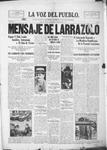 La Voz del Pueblo, 03-15-1919 by La Voz Del Pueblo Publishing Co.