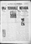 La Voz del Pueblo, 03-22-1919 by La Voz Del Pueblo Publishing Co.