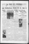 La Voz del Pueblo, 04-12-1919 by La Voz Del Pueblo Publishing Co.