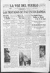 La Voz del Pueblo, 04-19-1919 by La Voz Del Pueblo Publishing Co.