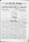 La Voz del Pueblo, 05-31-1919 by La Voz Del Pueblo Publishing Co.
