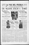 La Voz del Pueblo, 06-21-1919 by La Voz Del Pueblo Publishing Co.