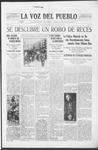 La Voz del Pueblo, 07-05-1919 by La Voz Del Pueblo Publishing Co.
