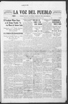 La Voz del Pueblo, 07-12-1919 by La Voz Del Pueblo Publishing Co.
