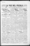 La Voz del Pueblo, 07-19-1919 by La Voz Del Pueblo Publishing Co.
