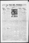 La Voz del Pueblo, 08-02-1919 by La Voz Del Pueblo Publishing Co.