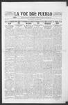 La Voz del Pueblo, 08-30-1919 by La Voz Del Pueblo Publishing Co.