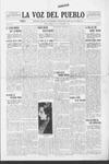 La Voz del Pueblo, 09-13-1919 by La Voz Del Pueblo Publishing Co.