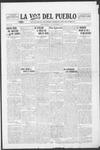 La Voz del Pueblo, 09-27-1919 by La Voz Del Pueblo Publishing Co.