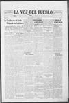 La Voz del Pueblo, 10-04-1919 by La Voz Del Pueblo Publishing Co.