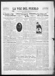 La Voz del Pueblo, 10-25-1919 by La Voz Del Pueblo Publishing Co.