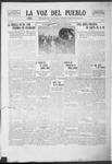 La Voz del Pueblo, 11-08-1919 by La Voz Del Pueblo Publishing Co.