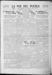 La Voz del Pueblo, 11-15-1919 by La Voz Del Pueblo Publishing Co.