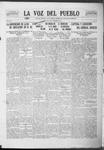 La Voz del Pueblo, 11-29-1919 by La Voz Del Pueblo Publishing Co.