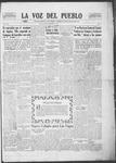 La Voz del Pueblo, 12-20-1919 by La Voz Del Pueblo Publishing Co.