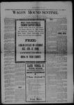 Wagon Mound Sentinel, 09-27-1919 by Sentinel Publishing Company