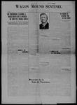 Wagon Mound Sentinel, 05-22-1920 by Sentinel Publishing Company