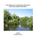 Water resources assessment in the greater Rio Casas Grandes Watershed