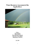 Water resources assessment of the Sapello River by Bruce Thomson and Abdul-Mehdi Ali