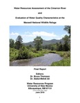 Water resources assessment of the Cimarron River and evaluation of water quality characteristics at the Maxwell National Wildlife Refuge