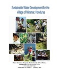 Sustainable Water Development for the Village of Miramar, Honduras